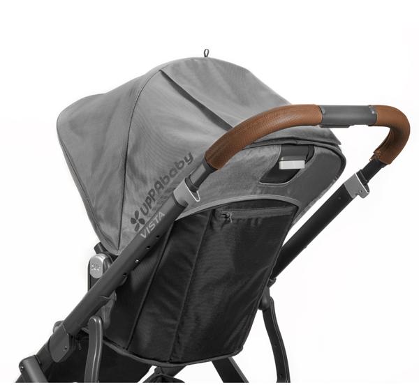 VISTA leather handlebar cover - saddle